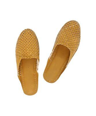 Dark Yellow Women shoe