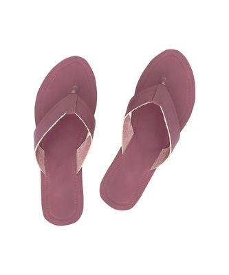 Purple Women Sandals