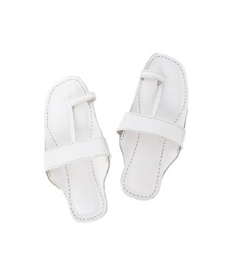 White Women sandal