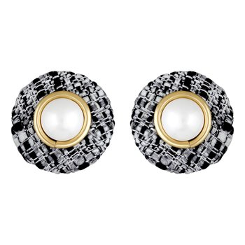 Modern Fashionable Gold Plated Stud Earring For Women