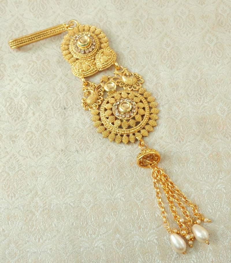 Lalso Designer Lct Gold Plated Kundan Single Juda Kamarband Waistbelt Hip Jewelry Wedding Festival Lsj09 Lct Lalso Lifestyle 3042031