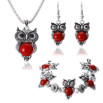 Red diamond jewellery-combo