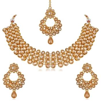 Beige Necklace Sets