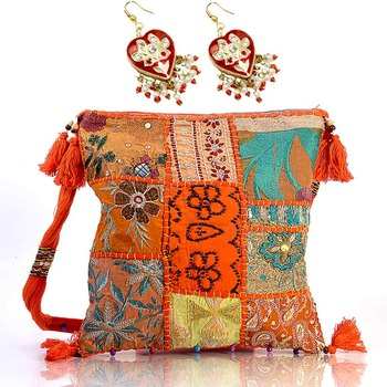 Hand Embroidery Women Fashion Bag Mothers Day Gift