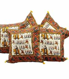 Buy Handblock Cushion Cover Furnishing Mother Gift diwali-home-decor online