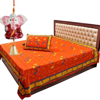 Double Bed Cover Pillow Set Mother Day Gift