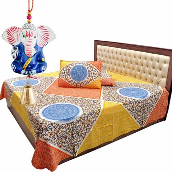 Double Bedsheet Pillow Covers Mothers Day Gift