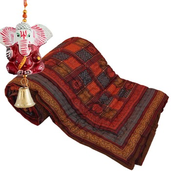 Jaipuri Cotton Double Quilt Mothers Day Gift