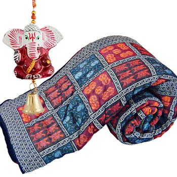 Jaipur Cotton Double Rajai Quilt Mothers Day Gift