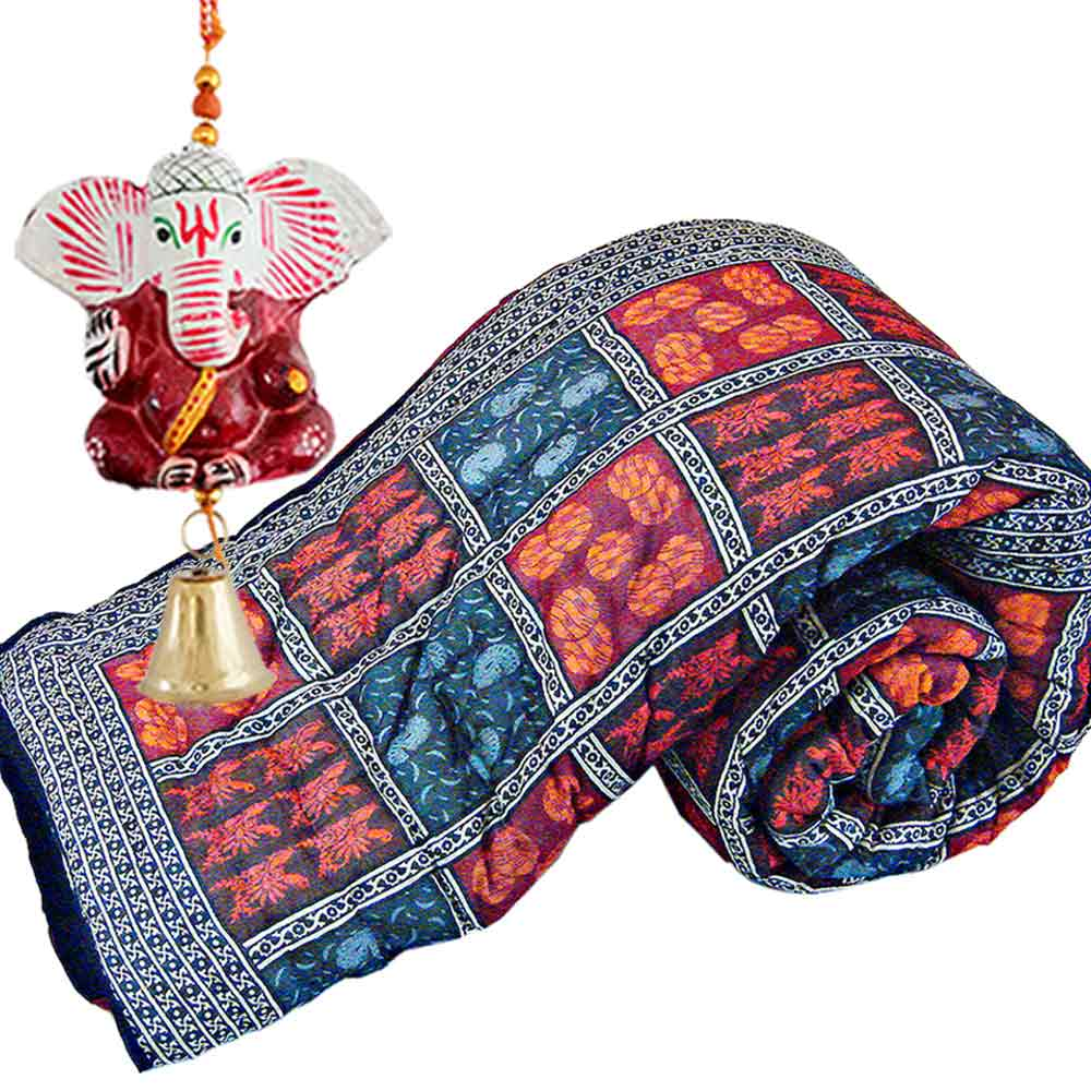 Buy Jaipur Cotton Double Rajai Quilt Mothers Day Gift Online