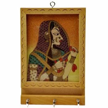 Gemstone Painting Keyholder Handicraft Mother Day