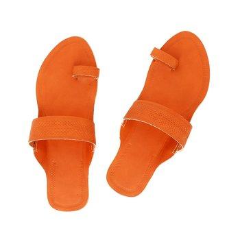 Orange Women Sandals