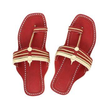 Cherry Red Women Sandals