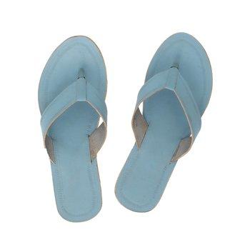 Sky Blue Women Sandals
