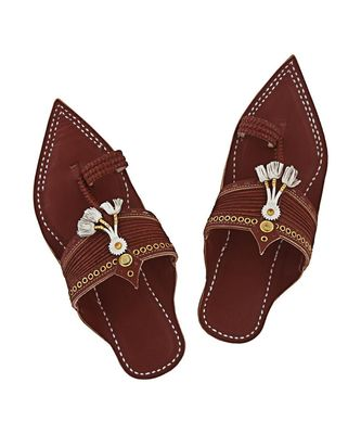 Red brown  men shoe