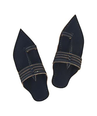 Dark blue  men shoe