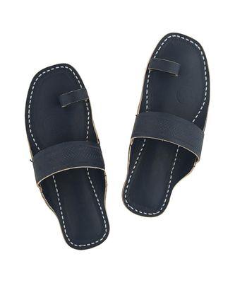 Dull Blue Men Sandals