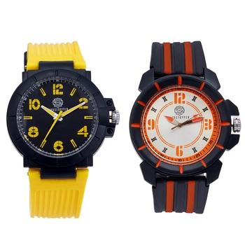 Yellow quartz   watches