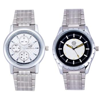Silver quartz   watches