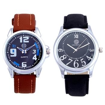 Brown quartz   watches