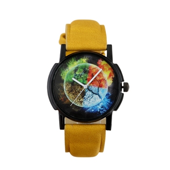 Yellow quartz   watches