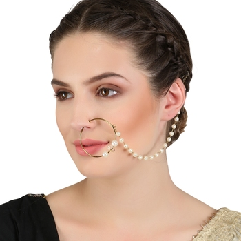 Multicolor Cubic Zirconia Nose Ring