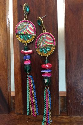 Multicolor crystal party-jewellery