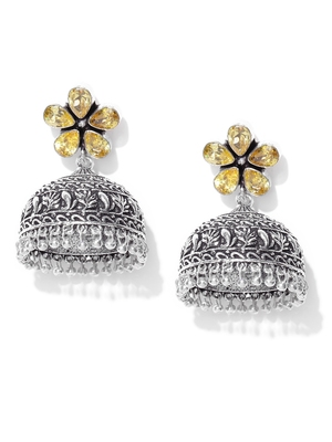 Infuzze Yellow earrings