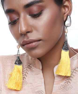 Long Tassle Earrings