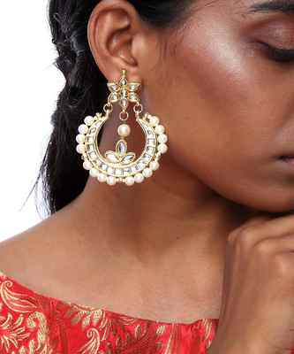 Half Chand Earrings