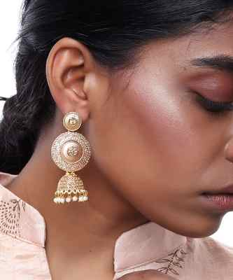 Rose Gold Jhumki