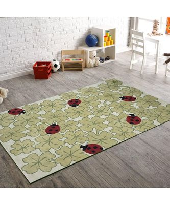 INDIAN HAND TUFTED FLOOR COVERING KIDS CARPET