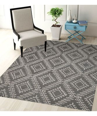 KILIM FLORAL DESIGN PATTERN ARE RUGS IN HAND TUFTED CARPET IN SIZE 60 X 96 INCH