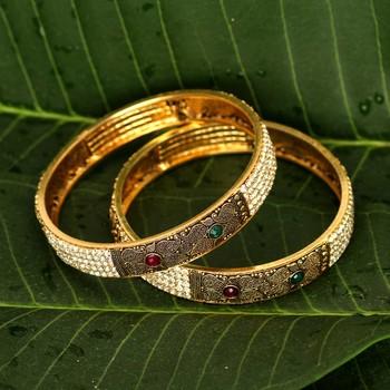 Maroon bangles-and-bracelets