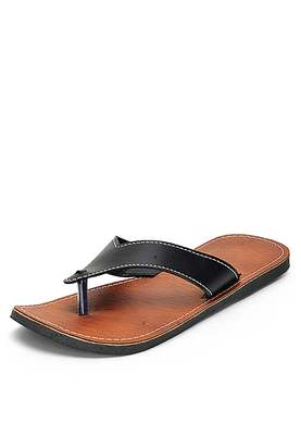 Indian synthetic leather casual thong sandals for Men
