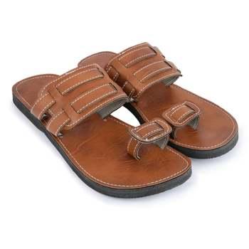 Handmade Synthetic Leather Sandals, Spartan Men'S Flip Flops, Summer Beach Shoes