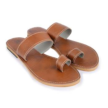 Synthetic Leather Sandals, Boho Beach Shoes, Summer Slingback Girls Sandals, Women Minimal Footwear