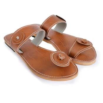 Synthetic Sandals / Ancient Indian Sandals/ Women's Flats/ Women's Sandals