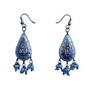 Ethnic Jodhpuri Design Earrings Fashion Jewellery