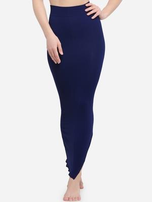 Microfiber Navy Blue Saree Shapewear