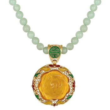 Party wear opera style Beads necklace for women and girls