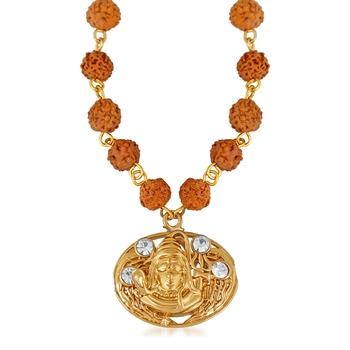 Brown crystal pendants