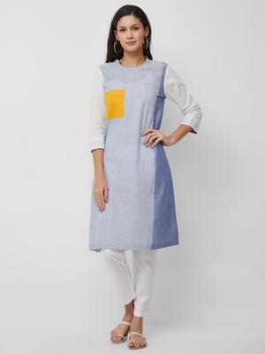 Women's The Sasha Kurti in Handloom Cotton