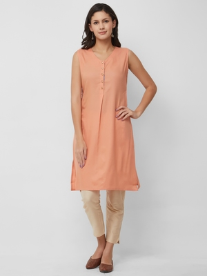 Women's The Kiyara Kurti in Handloom Cotton