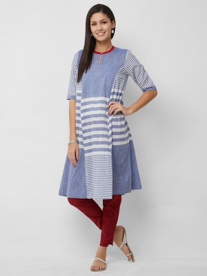 Women's The Kayra Kurti in Handloom Cotton