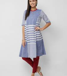 Women's The Kayra Kurti in Handloom Cotton