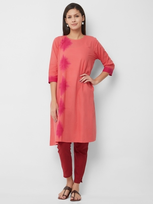 Women's The Rosa Kurti in Tie Dye Cotton