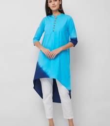 Women's The Rewa Kurti in Tie Dye Cotton