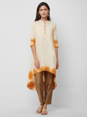 Women's The Amaya Kurti in Tie Dye Cotton