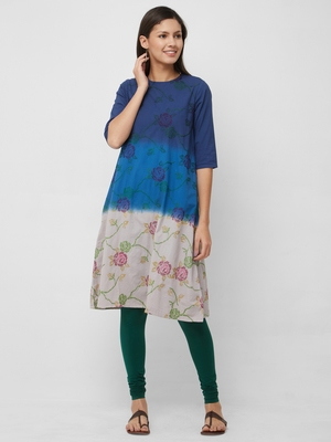 Women's The Akashi Tie Dye Kurti